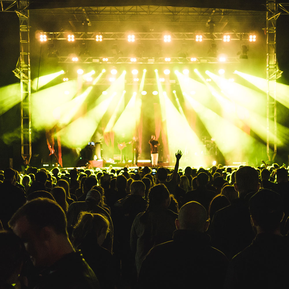 Konsert på HX-festivalen