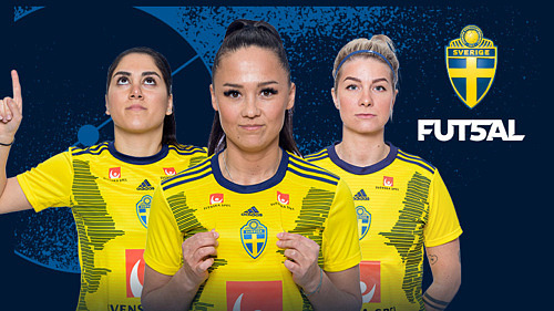 Futsal Damlandskamp Sverige – Polen