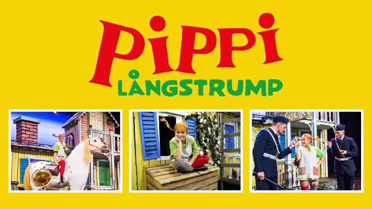 Pippi kommer till stan!