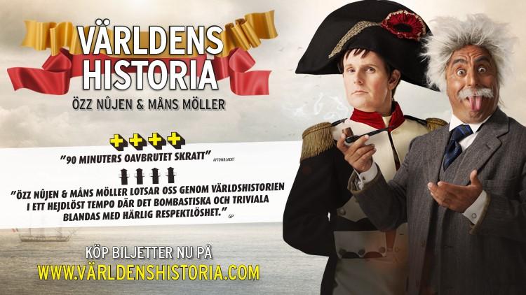 Världens Historia med Måns Möller & Özz Nüjen